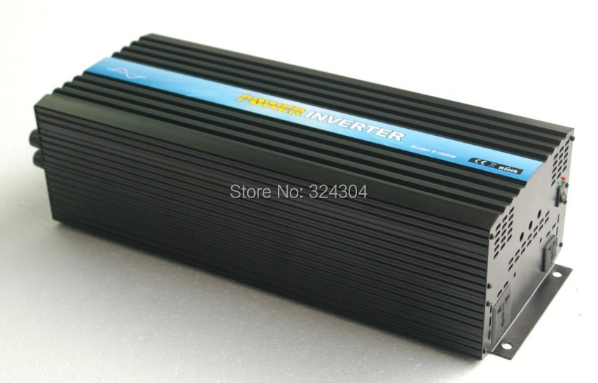 CE&RoHS Approved, dc 48v 5000w/5kw power inverter /solar inverter,one year warranty free shipping& with eternal good quality(China (Mainland))