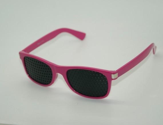 403 red good stenopaic spectacles eyesight pinhole glasses corrective glasses