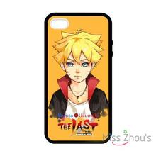 For iphone 4/4s 5/5s 5c SE 6/6s plus ipod touch 4/5/6 back skins cellphone cases cover Naruto The Last Boruto Uzumaki Bolt