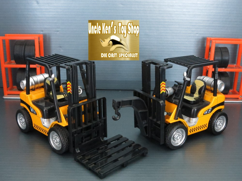 Hot sale 14cm length diecast agriculture forklift model set, baby toy cars with pull back function/music/light/(China (Mainland))
