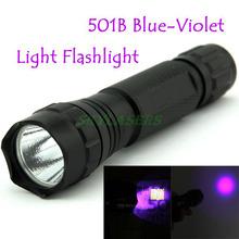WF-501B LED Flashlight 375NM UV Ultra Blue Violet Blacklight Waterproof Torch Lamp 18650(China (Mainland))