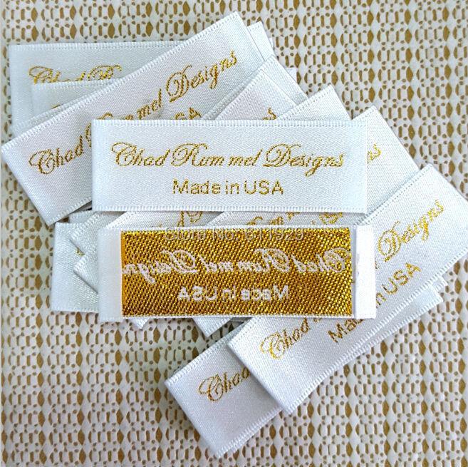 custom clothing satin woven labels garment embroidered With custom embroidered tags for clothing