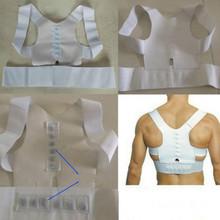 Magnetic Posture Corrector Braces Support Body Back Pain Belt Brace Shoulder For Men Women Care Health Adjustable(China (Mainland))