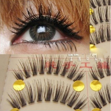 Fake Eye Lashes Tools Natural False Eyelashes Extensions Makeup Eyelashes 3d Volume Lashes Transparent Make Up For Professionals(China (Mainland))