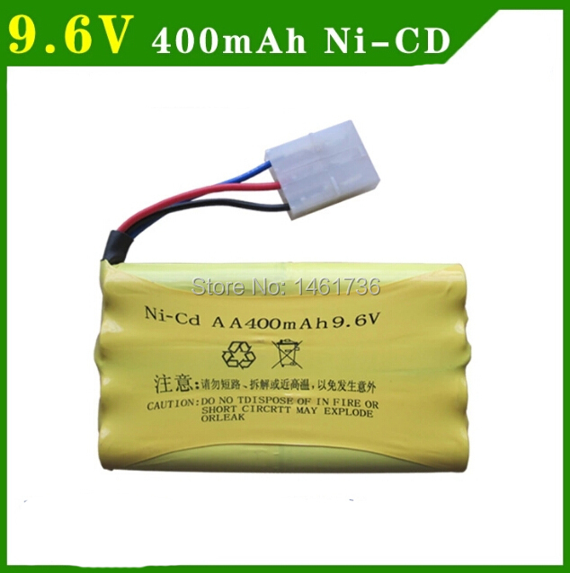 Free shipping HQ 627/520/618 RCl Car spare parts Ni-CD AA 9.6V 400MA battery(China (Mainland))