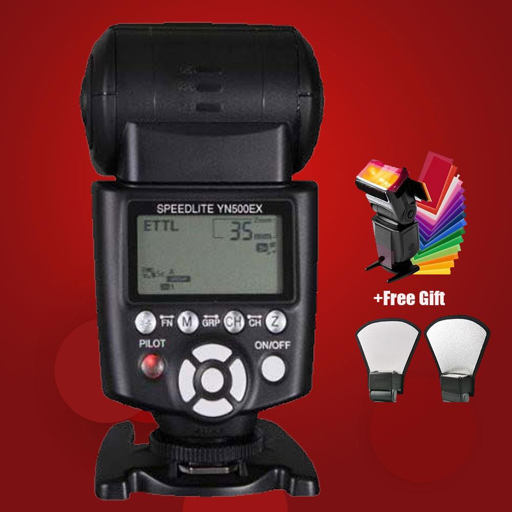YONGNUO YN-500EX GN53 E-TTL 1/8000s High Speed HSS Led Video Light High Speed HSS Portable Flash Speedlite For Canon(China (Mainland))