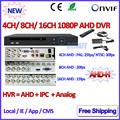 4 8 16 Channel NVR P2P 1080P AHDVR 4 channel Network 8CH DVR ONVIF 2 4