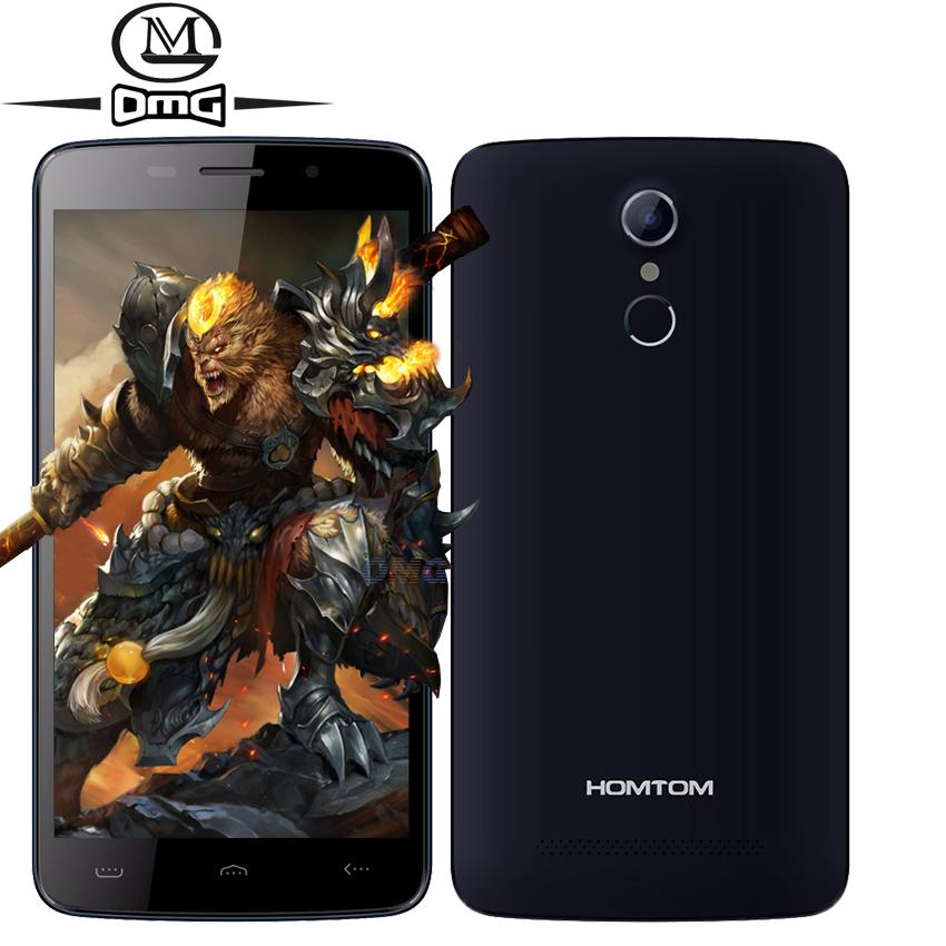"Original Homtom HT17 Pro MTK6737 Quad Core Smartphone Android 6.0 4G LTE 5.5"" 1280*720 Dual SIM 2GB RAM 16GB Mobile Cell Phone"