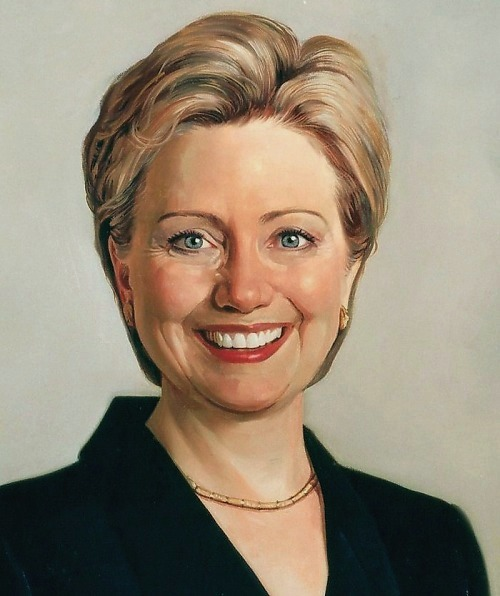 TOP original art oil painting # Hillary Clinton portrait OIL PAINTING - 100% hand painted ART --Accept customize custom art(China (Mainland))
