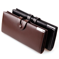 Hot New Fashion Brand Men Long Wallets High Quality PU Leather Hasp Purses Designer Card Holder