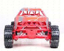 Buy Baja truck 1/5 rc 305FT Red prototype car steel rollcage nylon plate + radio control GT 3B gas rc car gasoline car for $910.00 in AliExpress store