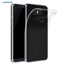 Buy VOONGSON Ultra Thin Soft TPU Gel Original Transparent Case LG G6 G 6 Crystal Clear Silicon Cover Transparent Phone Cases for $1.48 in AliExpress store