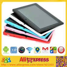 New High Quality Android 4.2 Q88 Dual Cameras Dual Core Tablet PC 7 inch 800*480 Capacitive Screen 512M 4GB (China (Mainland))