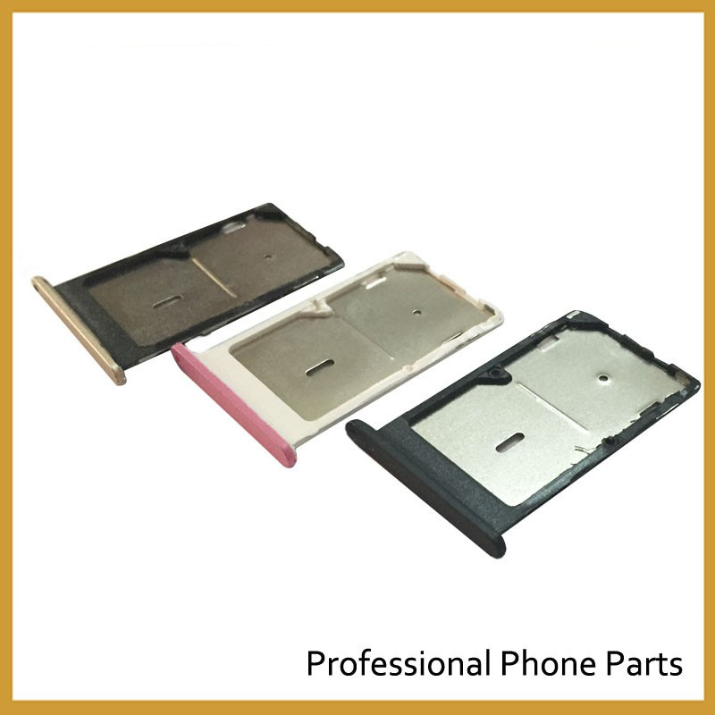 Black/Golden/Pink SIM Card Tray Slot Holder For xiaomi Mi 4C mi4c Replacement Parts