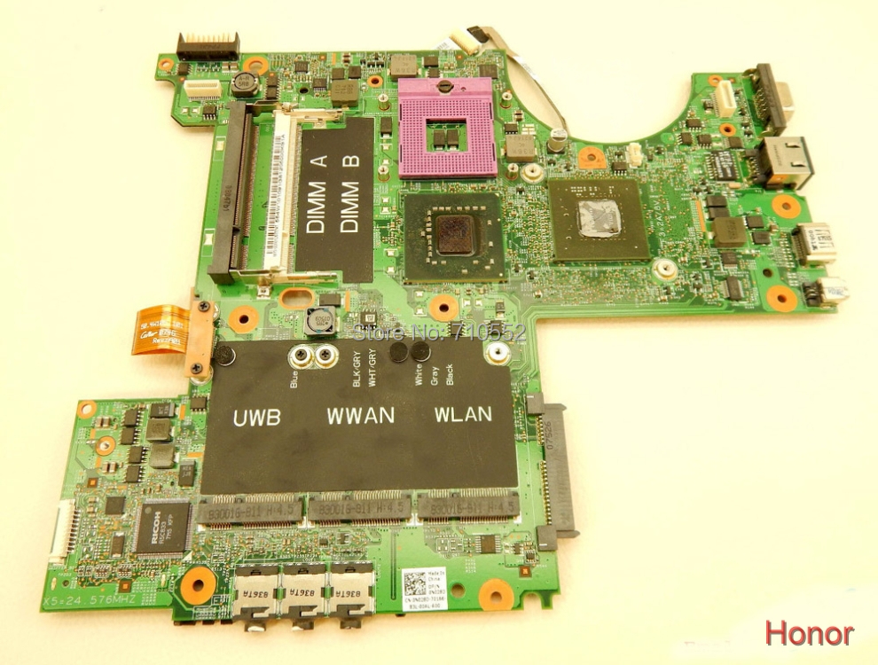 for Dell XPS M1530 MU716 0MU716 CN-0MU716 w 8600M laptop motherboard mainboard fully tested &amp; working perfect<br><br>Aliexpress
