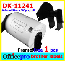 115X Roll Free shipping BrotherDK-11241 DK 11241 DK11241 DK1241 DK 1241 DK241 DK 241 241 Compatible Labels Thermal paper sticker