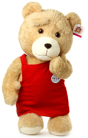 Fancytrader 2015 New 24 60cm Super Cute Giant Plush Stuffed Teddy Bear Free Shipping FT90220<br><br>Aliexpress
