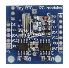 Buy I2C RTC AT24C32 DS1307 Real Time Clock Module arduino AVR PIC 51 ARM for $1.23 in AliExpress store