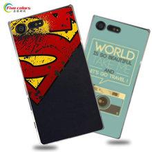 Buy Hard Plastic phone bag case Sony Xperia X Compact Fashion UV Printing Cartoon back cover Sony Xperia X Compact case for $5.39 in AliExpress store