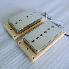 Buy Sell Free surrounds N&B 1set Alnico 5 P90 humbucker size lp guitar pickup for $22.50 in AliExpress store