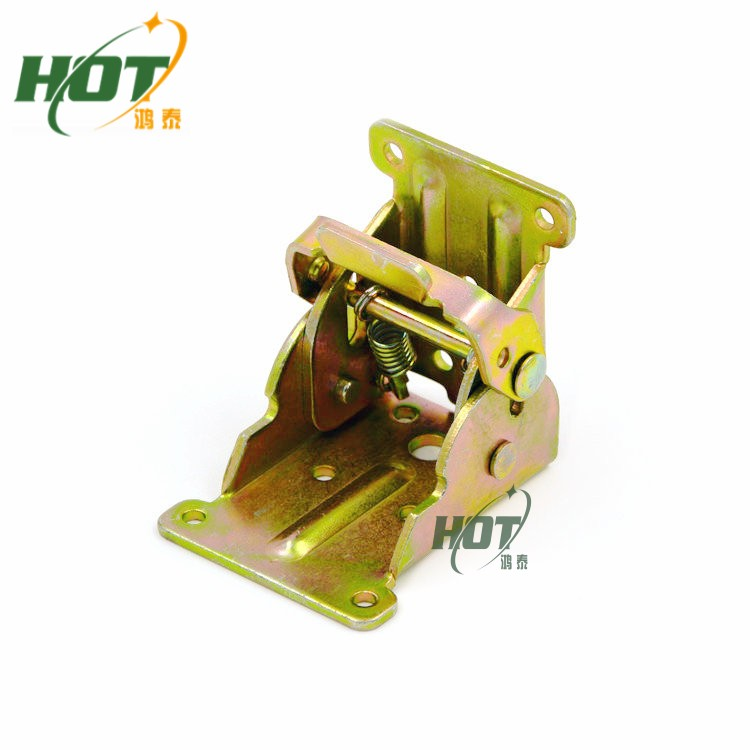 Tea Table Legs Folding Hinge Leaves 90 Degrees Self-locking Folding Furniture Hardware Accessories Bed Folding Table Leg(China (Mainland))