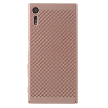 Buy Sony Xperia XZ Hard Cases Hollow Mesh Heat Dissipation PC Protector Cover Sony Xperia XZs / XZ 5.2 inch for $2.17 in AliExpress store