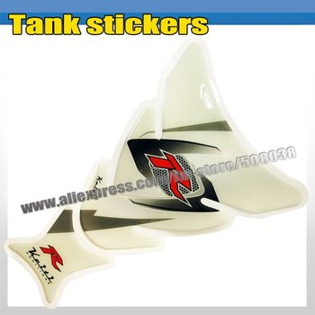 MOTORCYCLE MOTOGRAFIX TANKPAD TANK STICKERS CARBON DECAL MP002
