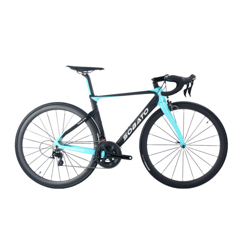 Ultralight Strong Aero Breaking Wind Full Carbon Fiber Complete Bikes Complete bicycles 22 speed T1000 and T800 available(China (Mainland))