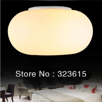 Apple Ceiling Lighting Modern Ceiling warm glass hall hallway kitchen light fixtures small: 28 CM in: 38 CM large: 45 CM