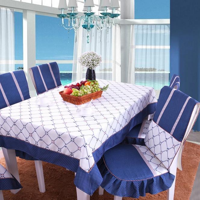 plaid tablecloth pastoral nappe de table toalha de mesa. Black Bedroom Furniture Sets. Home Design Ideas