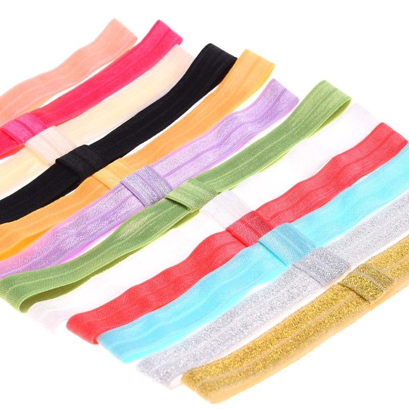 10pcs FOE elastic headband Cheap headbands Boutique Hair band hair accessories soft hair band ealstic hairbands(China (Mainland))