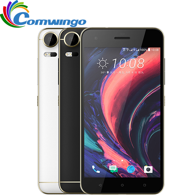 "Новый Оригинальный HTC Desire 10 Pro 4 ГБ RAM 64 ГБ ROM LTE Телефон Octa Ядро Dual Sim Android OS 6.0 Dual SIM 20MP 5.5 ""3000 мАч телефон"