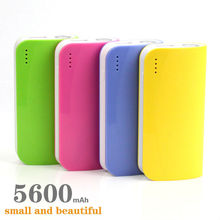 NEW Portable Charger power bank Mobile USB External Battery powerbank 5600mAh carregador de bateria portatil for all phone(China (Mainland))