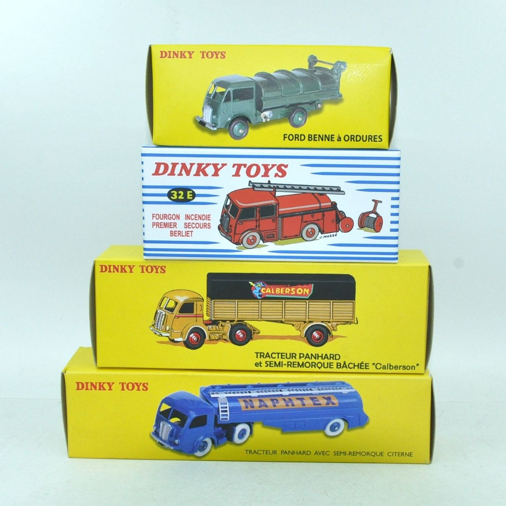 Very cheap DINKY toys four models car Alloy Diecast Antique model car TOYS 1/43 the car model for gift or collect(China (Mainland))