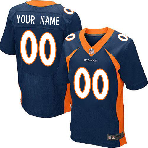 NFL Football Jerseys Customized American Denver NFL Jersey- white Navy Blue(China (Mainland))