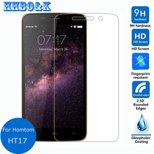 """Buy Homtom HT17 Tempered Glass Screen Protector 0.26mm 2.5D 9h Safety Protective Film Homtom HT17 (5.5""""inch) Glass Film for $1.79 in AliExpress store"""