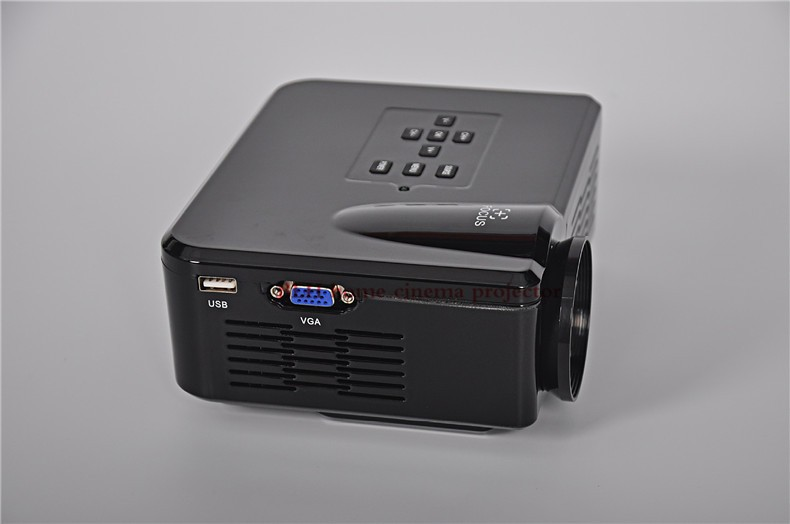 Big Discount 2015 LED Mini Portable HDMI USB Video pICo LCD 1080P 3D hd Home Theater Projector fUlL hd Proyector Beamer Projetor