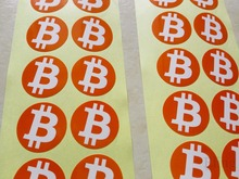 Buy 30mm bitcoin logo sticker, clear printing art paper, label love digital currency, 500pcs/lot, Item No.FS03 for $18.00 in AliExpress store