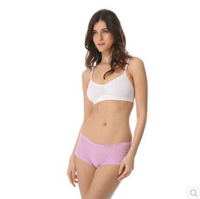 Seamless Bra style sports a girl underwear Ms. no rims ...