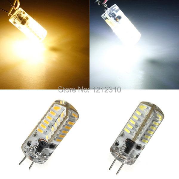 G4 DC12V 6W Silicone LED Bulb SMD3014 Led Corn Lamp for Chandelier Lamp LED Spotlight Bulb Warm Cold White<br><br>Aliexpress