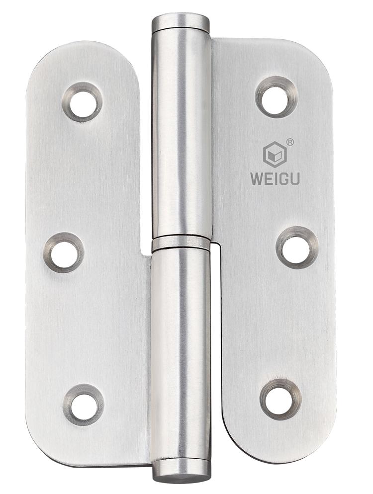 Door Hardware Door Hinge Material SS 1 Pair (90mm*65mm *2.5 mm)(China (Mainland))