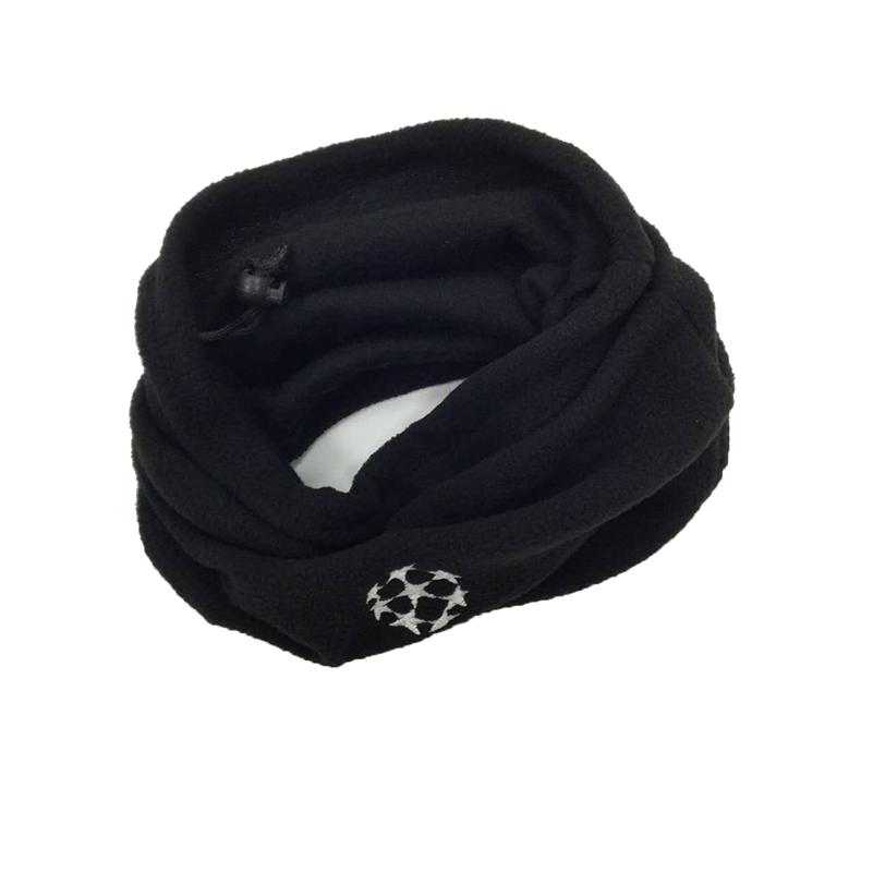 Dual-use Scarf Football Neckerchief Soccer Scarf Outdoor Sports Windproof Multifunctional Fleece Warm Hat(China (Mainland))