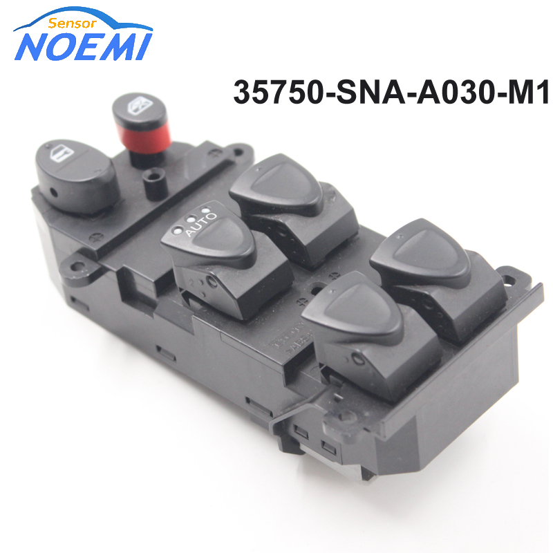 Online buy wholesale honda window switches from china for 2001 honda civic master power window switch