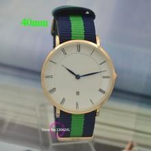 Mejor la venta De primeras marcas! Relojes De Marca hombres mujeres De cuero De Nylon correa De Reloj / Reloj Militar se divierte Homme Montre Relojes De pulsera