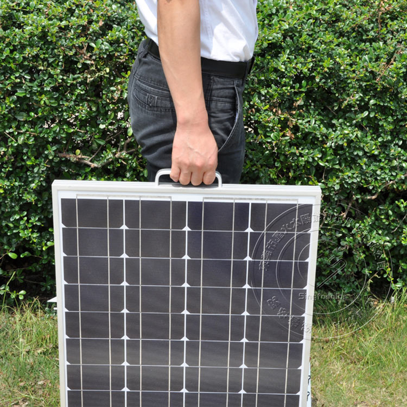 2016 New Portable Mini Solar Power System 50W 12V 18V Charging Solar Energy System Home Off Grid System Wholesale SFPS137(China (Mainland))