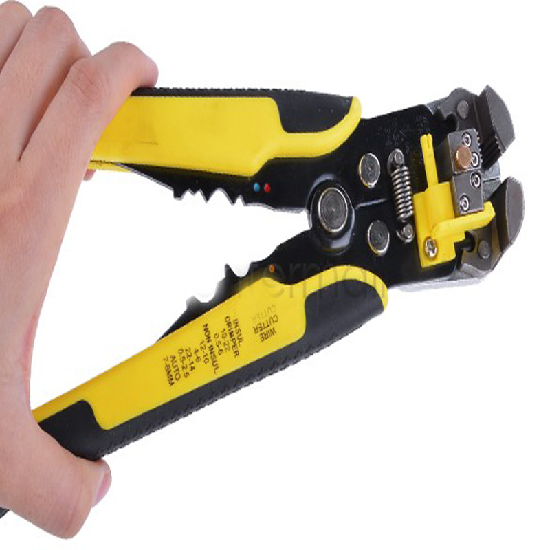 Free shipping New High Quality Multifunctional Automatic Cable Wire Stripper plier Self Adjusting Crimper Terminal Tools(China (Mainland))