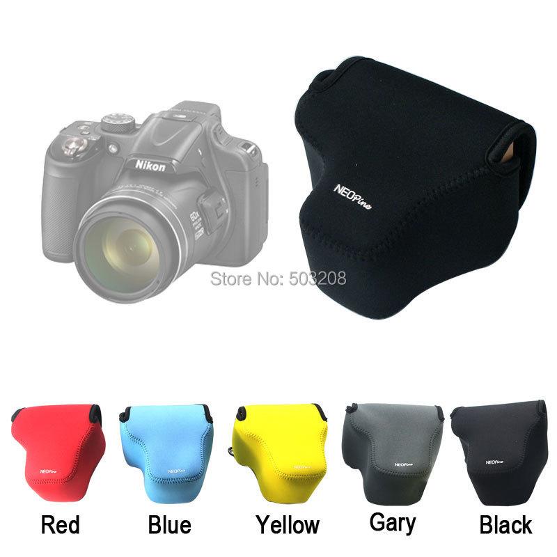 Neoprene Soft Camera protect case bag Nikon P600 P530 P520 P510 P500 Canon SX50 SX40 Panasonic DMC-FZ200 Leica V-LUX4 - YuYu store
