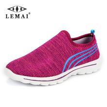 LEMAI  NEW Fashion Women casual shoes,  Cheap Walking women's flats Shoes , breathable Zapatillas Casual Shoes(China (Mainland))