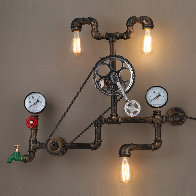 Popular Steampunk Lighting-Buy Cheap Steampunk Lighting lots from China Steampunk Lighting ...