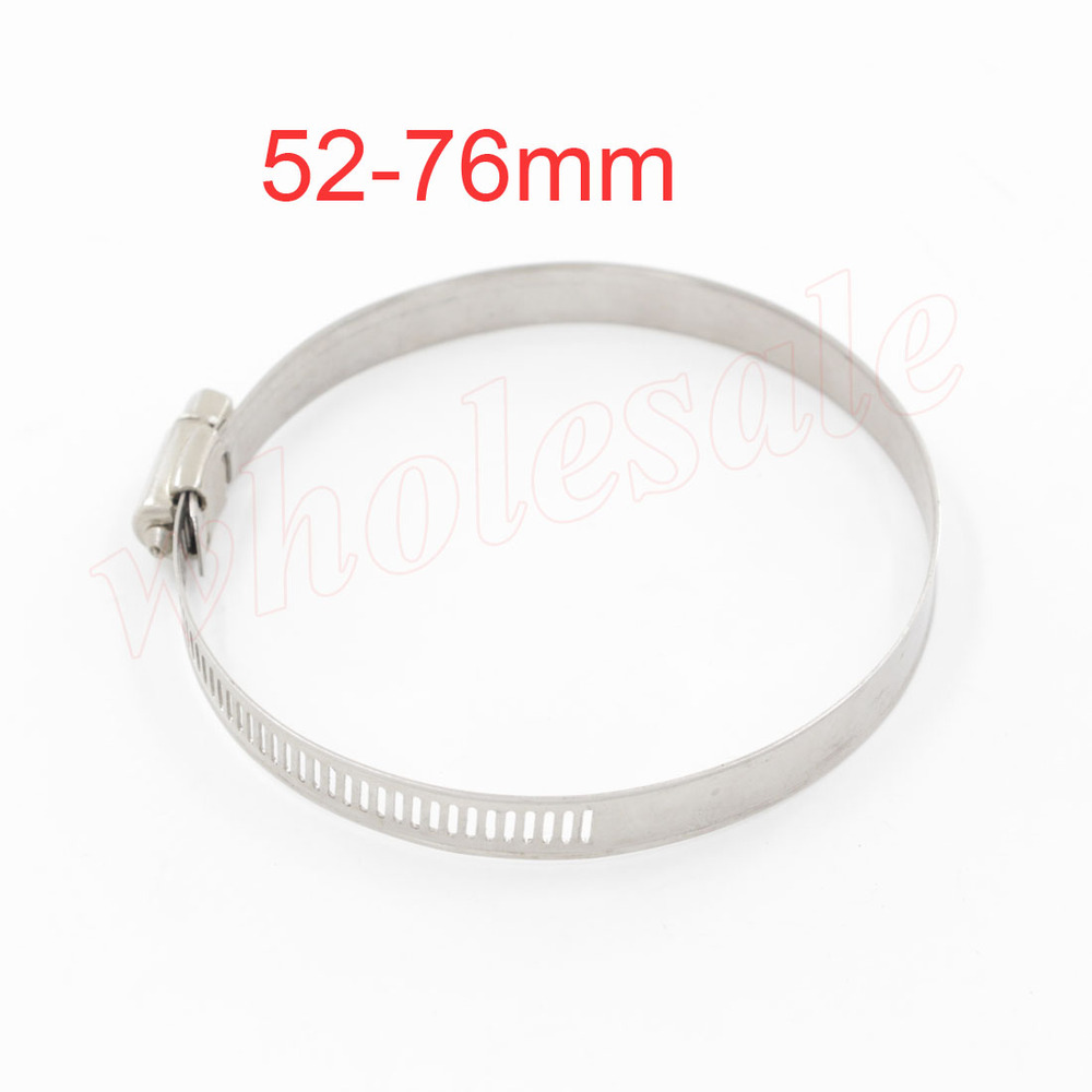High Quality 20pcs/lot Hose Clamp Fit for Hose Diameter 52-76mm Worm Gear <br><br>Aliexpress